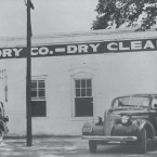 Vick's Cleaners in 1936